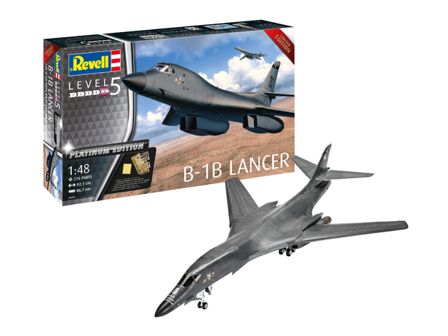 Revell: Platinum Edition - B-1B Lancer - 1:48 Scale Model Kit