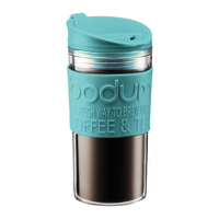 Double Wall Travel Mug - Petrol (350ml)