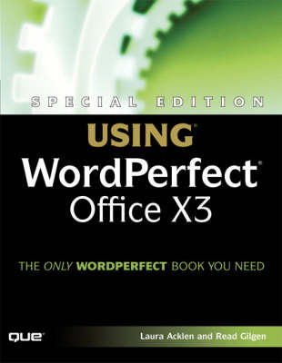 Using WordPerfect Office Suite X by Read Gilgen image