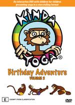 Kinda Yoga Volume 2 Birthday Adventure on DVD