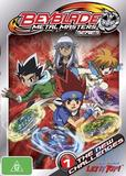 Beyblade Metal Masters Vol 1: The New Challenge on DVD
