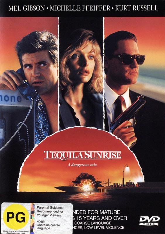 Tequila Sunrise on DVD