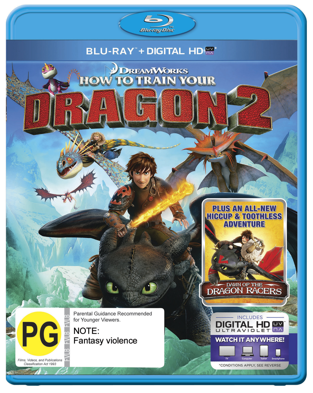 How To Train Your Dragon 2 on Blu-ray image