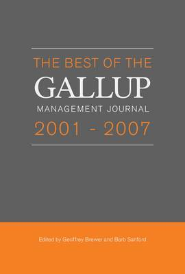 Best of the Gallup Management Journal 2001-2007 image