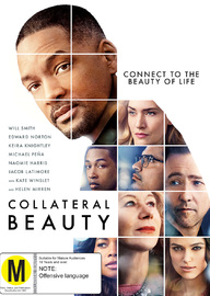 Collateral Beauty on DVD image
