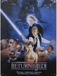Star Wars: Metal Sign - Return Of The Jedi