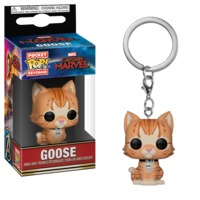 Captain Marvel - Goose the Cat Pocket Pop! Keychain