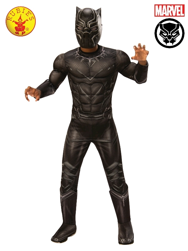 Black Panther Deluxe - Size 6-8