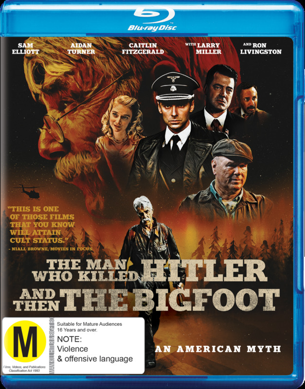 The Man Who Killed Hitler and then Bigfoot on Blu-ray