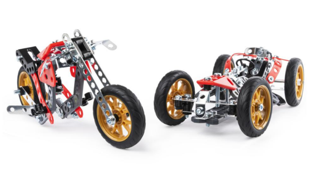 Meccano: 5-in-1 Construction Set - Street Fighter Bike