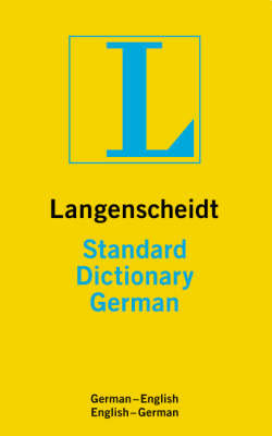 German Langenscheidt Standard Dictionary by Heinz Messinger image