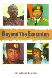 Beyond the Execution by Tom Mbeke-Ekanem image