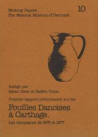 Fouilles Danoises a Carthage: Premier Rapport Preliminaire - Les Campagnes de 1975 et 1977 image