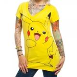 Pokemon Pikachu Ladies T-Shirt (Large)