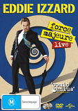 Eddie Izzard: Force Majeure Live DVD