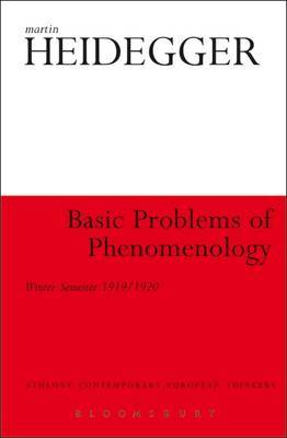 Basic Problems of Phenomenology by Martin Heidegger image