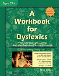 A Workbook for Dyslexics by Cheryl Orlassino