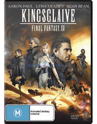Kingsglaive: Final Fantasy XV DVD