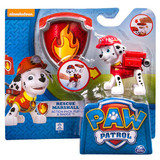 Paw Patrol Actionpack Pup Badge - Rescue Marshall