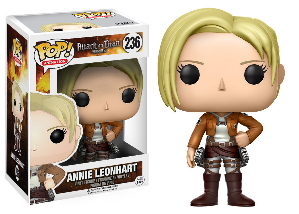 Attack on Titan - Annie Leonhart Pop! Vinyl Figure image