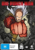 One Punch Man - The Complete Season 1 (2 Disc Set) on DVD
