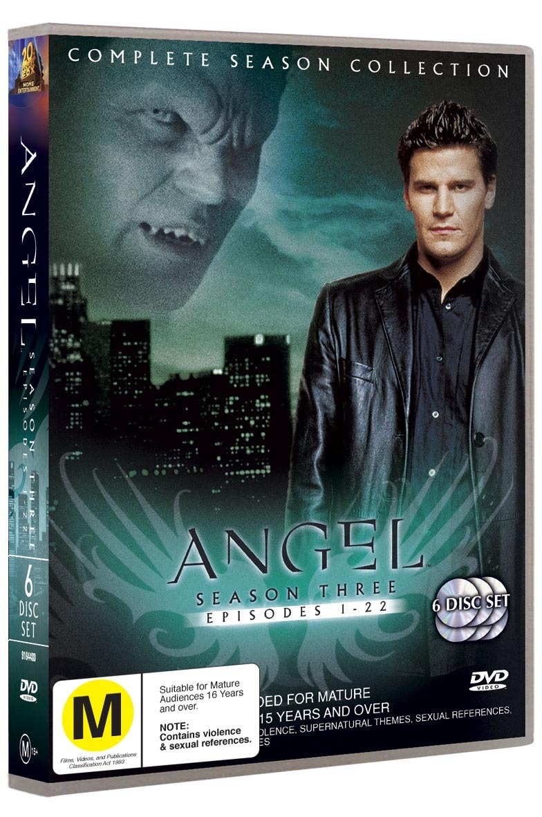 Angel - Complete Season 3 (6 Disc Set) on DVD image