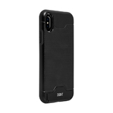 3SIXT Card & Stand Case for iPhone X - Black