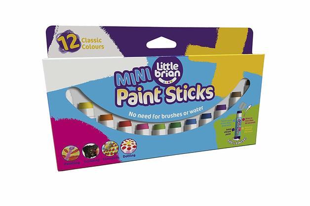 Little Brian: Paint Sticks (12 Pack)