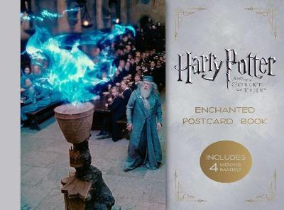 Harry Potter and the Goblet of Fire Enchanted Postcard Book by Insight Editions image