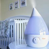 Crane Ultrasonic Humidifier - Drop White