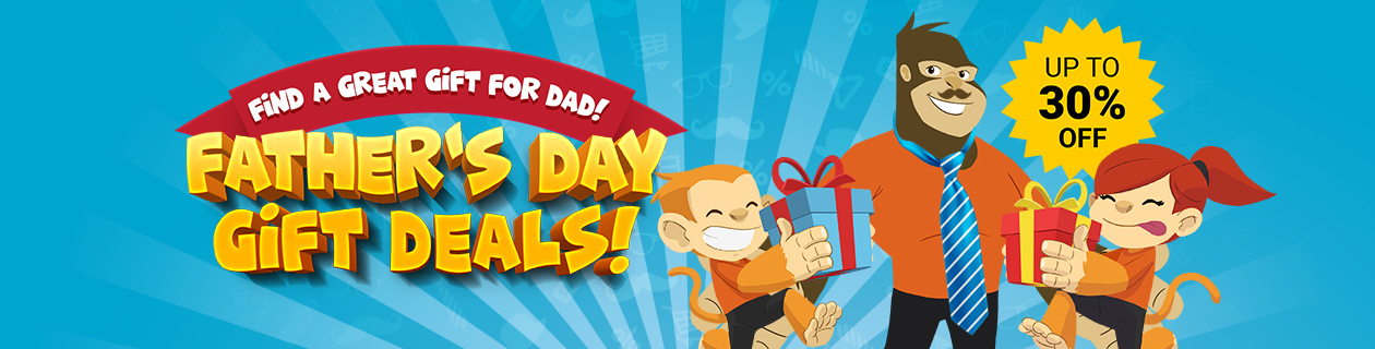 Save on heaps of great gifts for Dad!