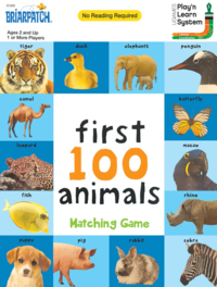 Briarpatch: First 100 Animals - Matching Game