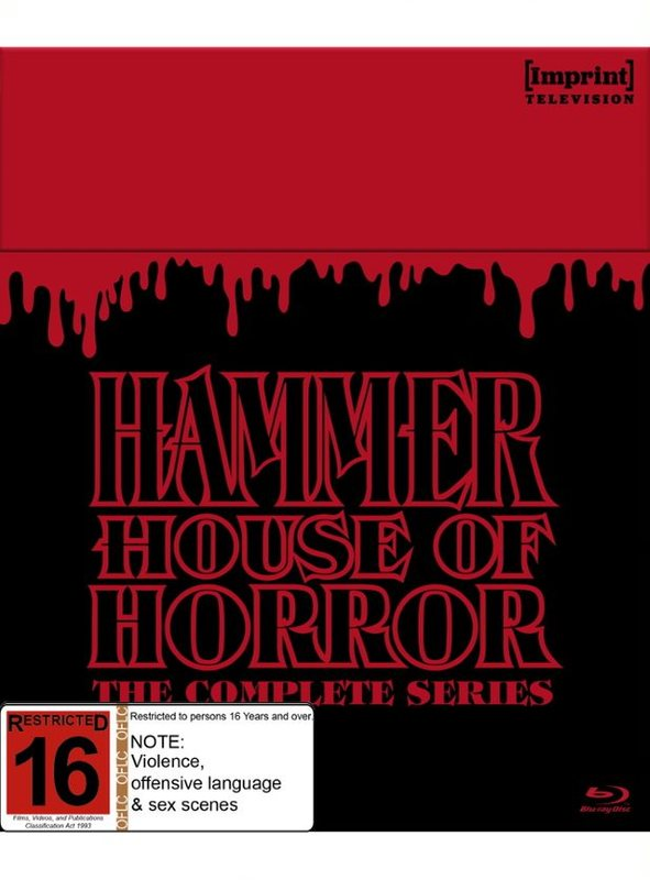Hammer House Of Horror - The Complete Series (Imprint Television Collection #1) on Blu-ray