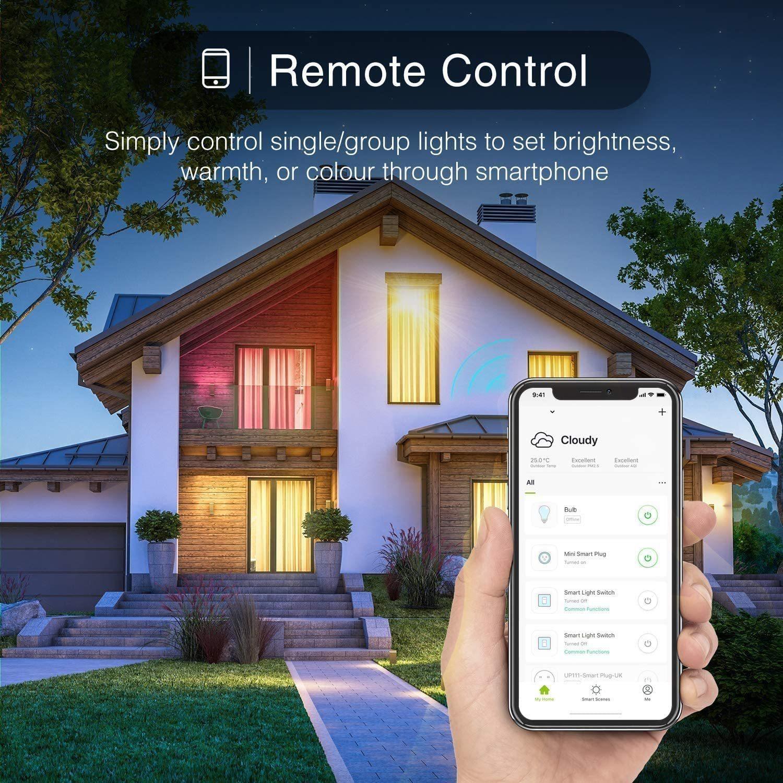 Smart Ape: WiFi RGB & Warm White Smart LED Spotlight (GU10) - 4 Pack image