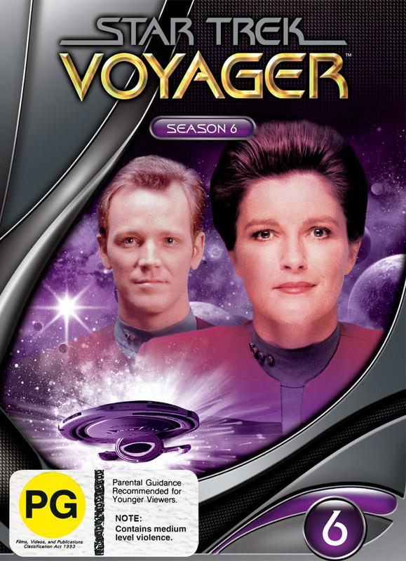 Star Trek: Voyager - Season 6 (New Packaging) on DVD