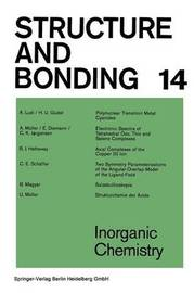 Inorganic Chemistry by A Ludi