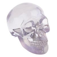 Skull Ornament Small - Translucent