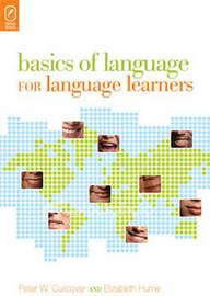 Basics of Language for Language Learners by Peter W Culicover image