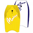 "Maddog: Epic - 37"" Bodyboard (Yellow)"