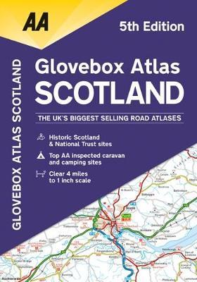 Glovebox Atlas Scotland by AA Publishing