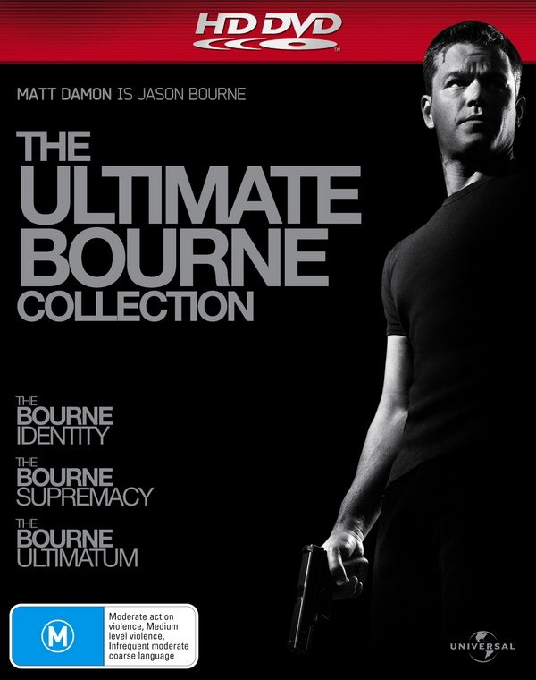 Ultimate Bourne Collection, The (3 Disc Set) on HD DVD image