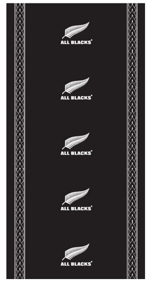 All Blacks: Bandana - Motif image