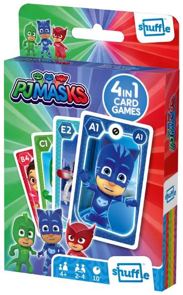 Shuffle: 4-In-1 Card Games - PJ Masks