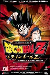 Dragon Ball Z Uncut: Vegeta Saga - Vol 1.1 - Saiyan Showdown on DVD