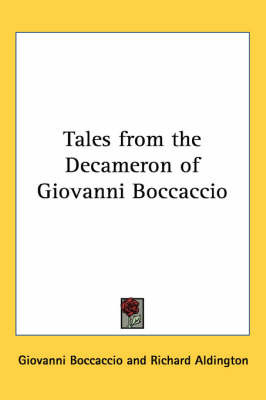 Tales from the Decameron of Giovanni Boccaccio by Professor Giovanni Boccaccio image