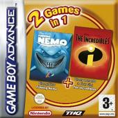 Finding Nemo + The Incredibles (Double Pack) for GBA