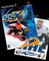 SSX + NHL 2001 for PS2
