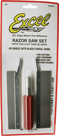 Excel Razor Saw Set (3pc)