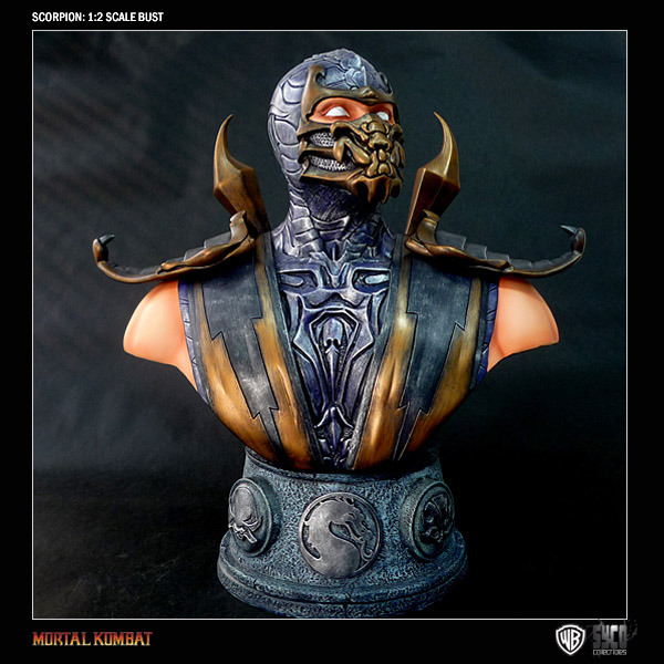 Mortal Kombat Scorpion 1/2 Resin Bust