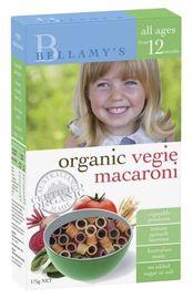 Bellamy's - Organic Vegie Macaroni (175gm)